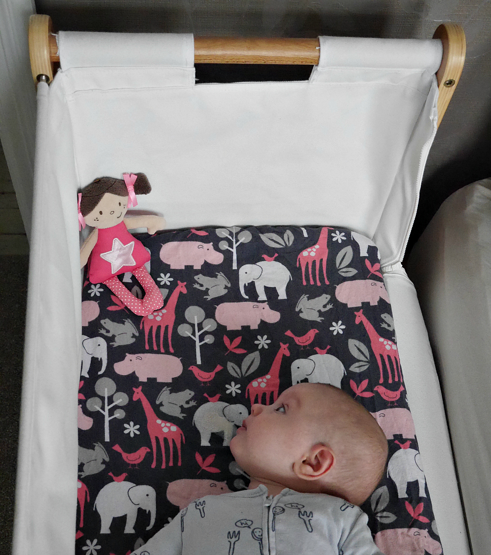 Baby bed extension uk - Snuzpod With Side Down