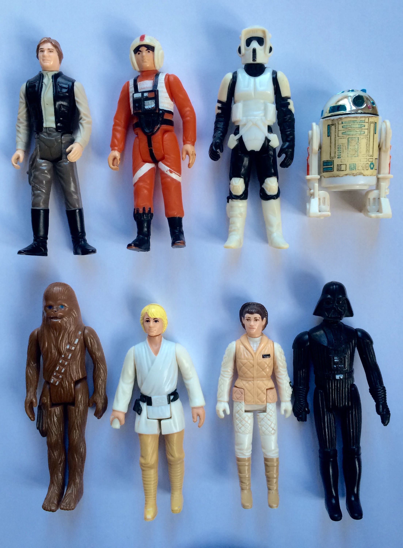 Star Wars toy figures