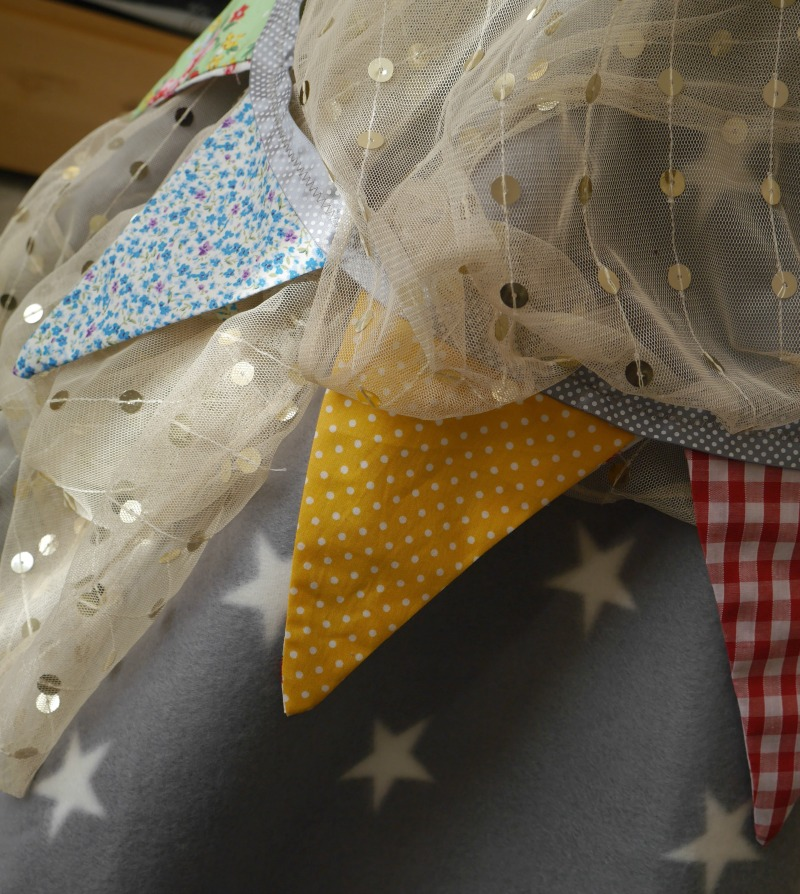 How to make really easy bunting