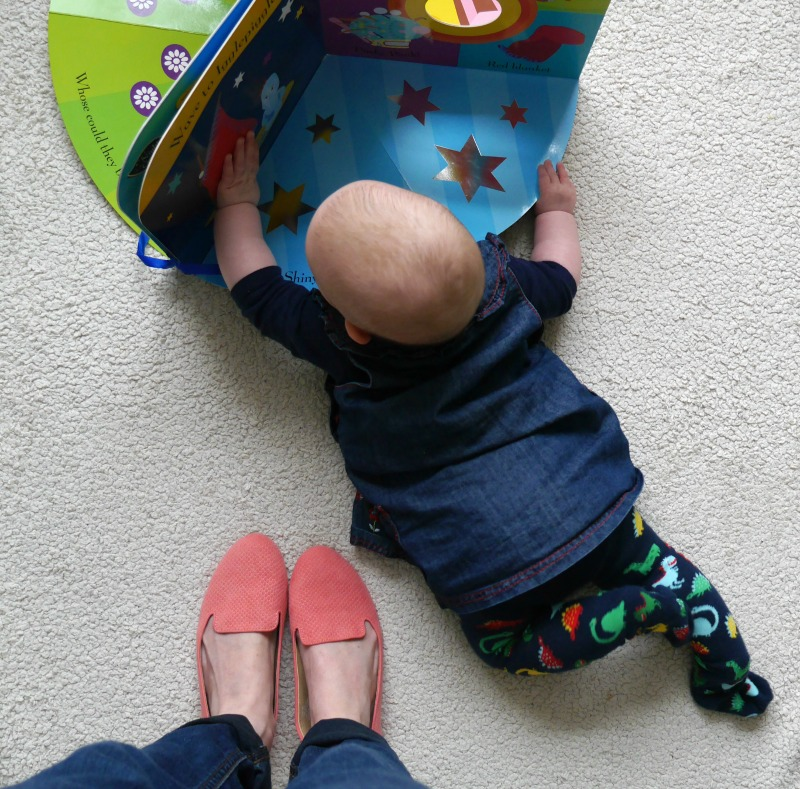 ITNG new tummy time book for babies