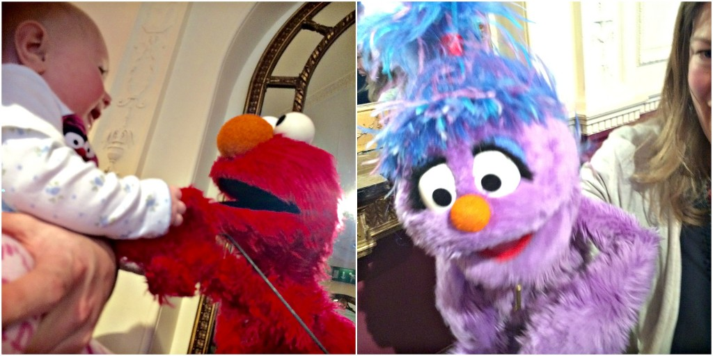 Elmo and Phoebe puppets, Furchester Hotel