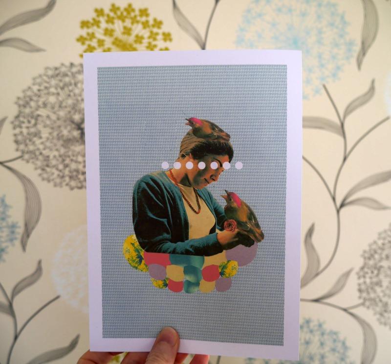 Nesting print - Laura Redburn