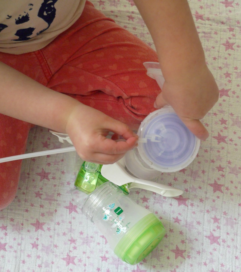 lansinoh manual breast pump tips