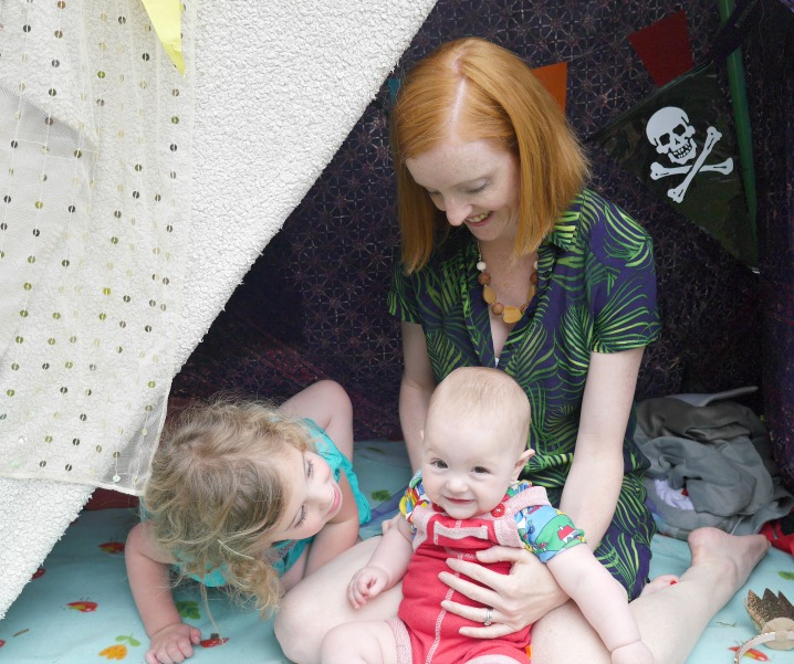 Den building Day for Save the Children