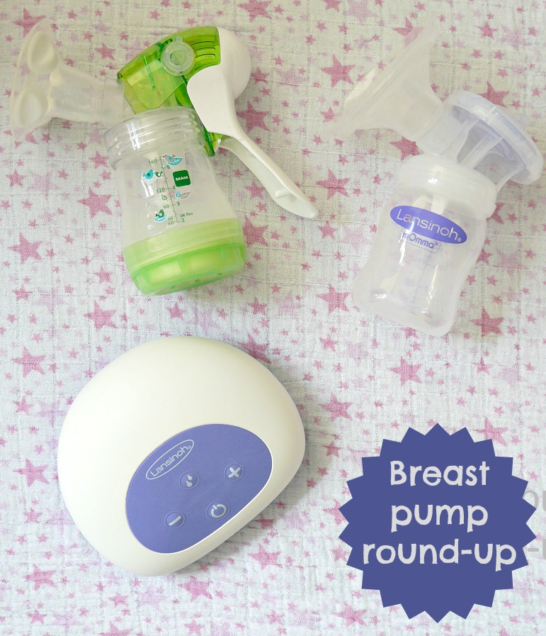 MAM and Lansinoh electric breast pump review