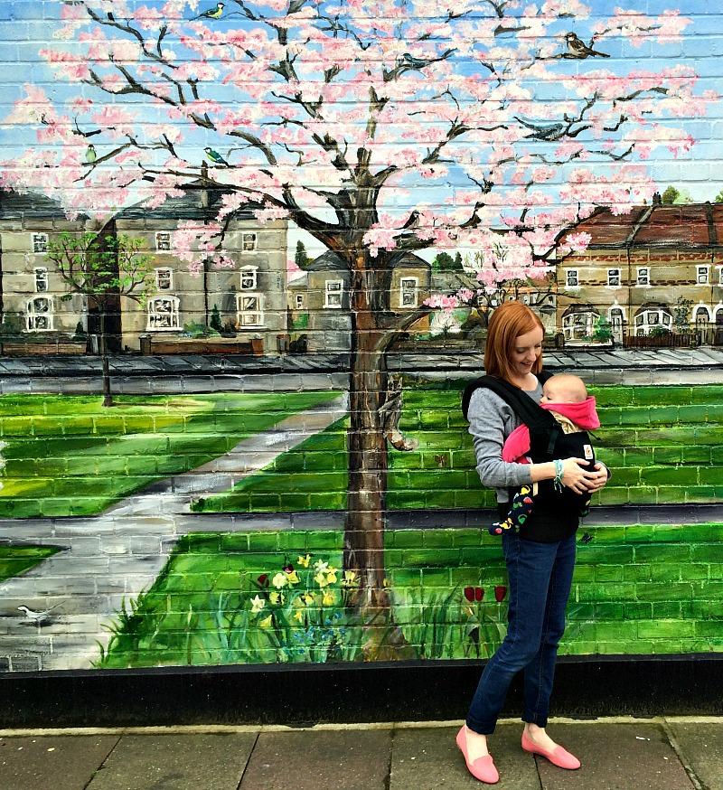 Mural wall, London