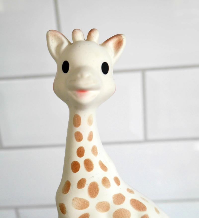 Sophie La Giraffe teething toy
