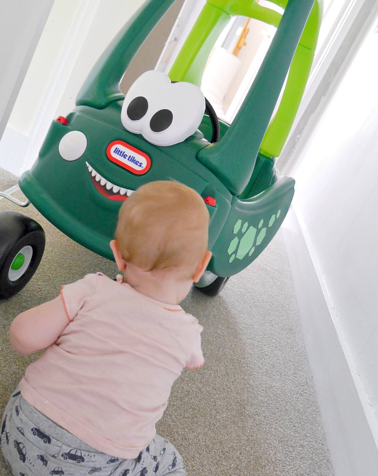 Little Tikes Cosy Coupe Dinosaur Review A Baby On Board Blog