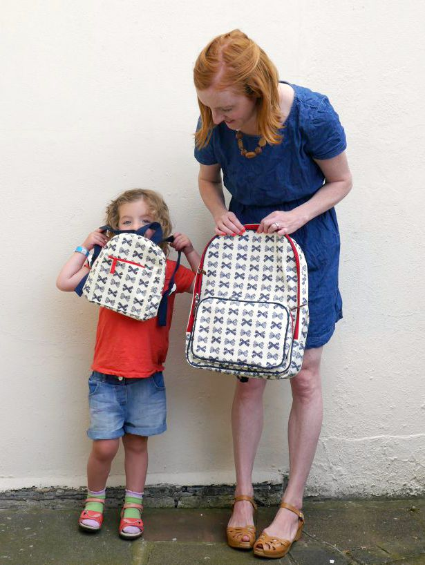 Pink Lining diaper change rucksacks for mums and babies