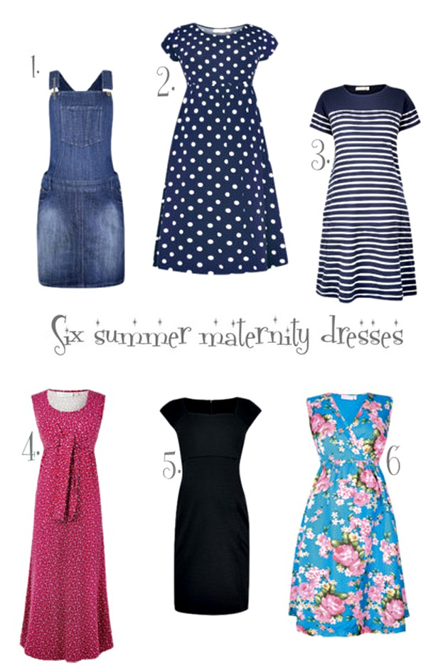 Stylish summer maternity dresses