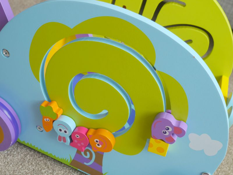 Wooden baby toys puzzle