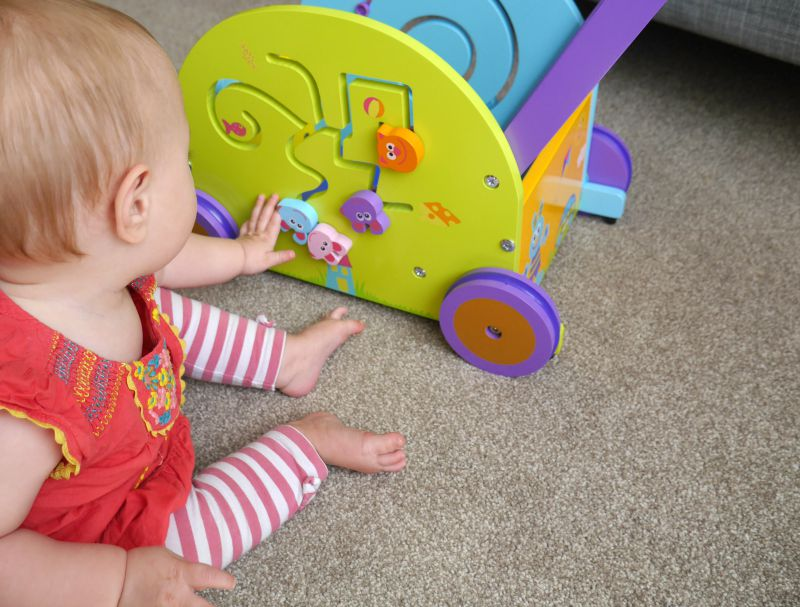 Wooden baby walker review