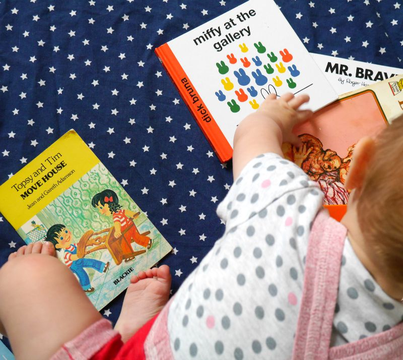 Babies and bedtime stories