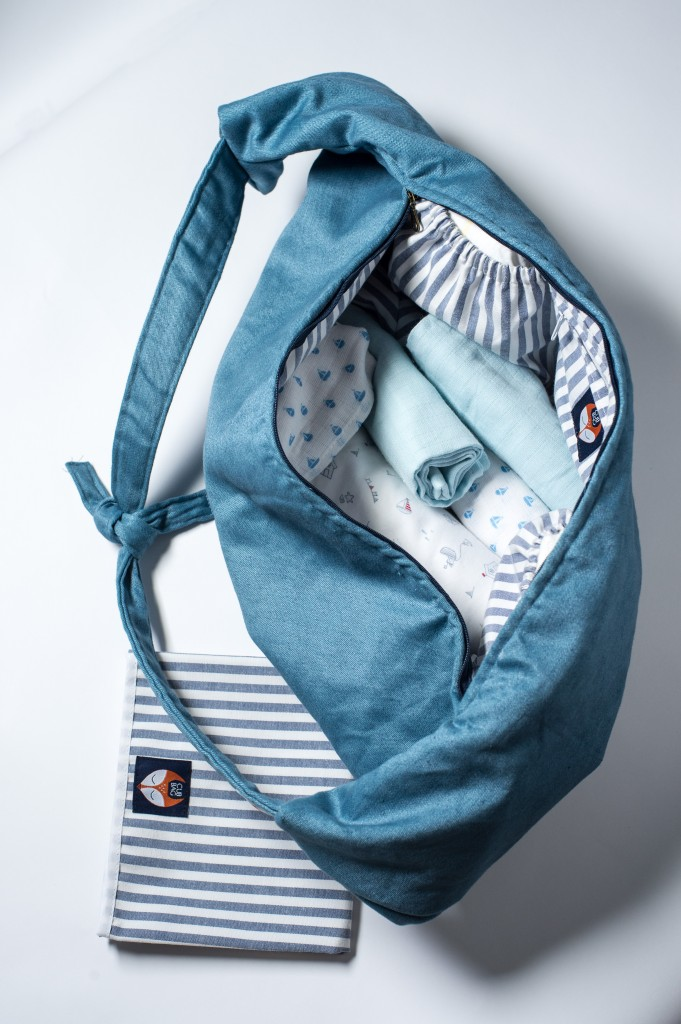 The Cub diaper bag and breastfeeding support