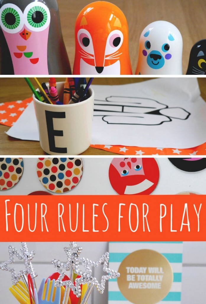 Four rules for play