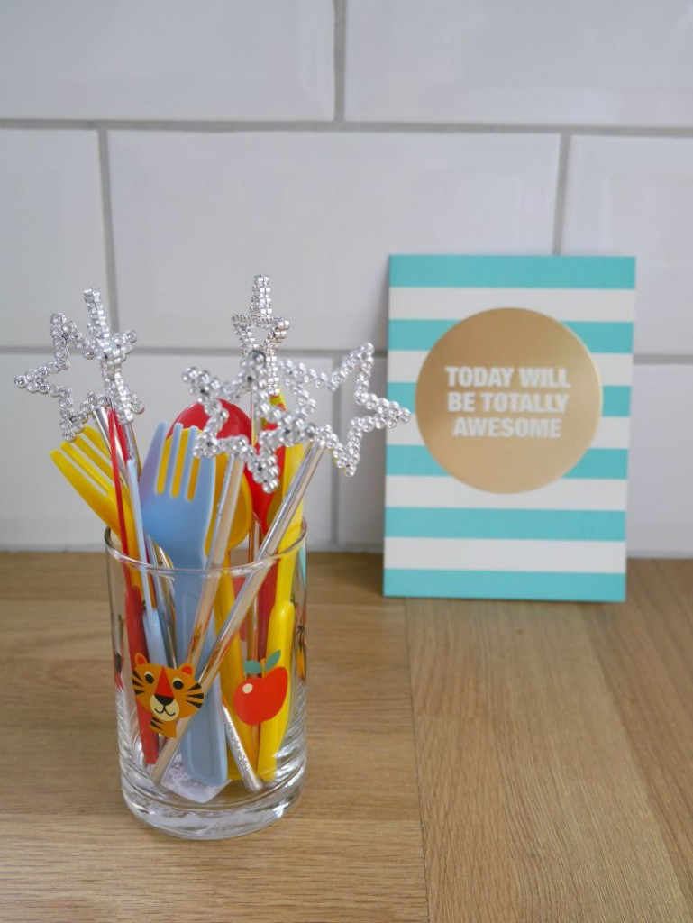 Animal glass and awesome card