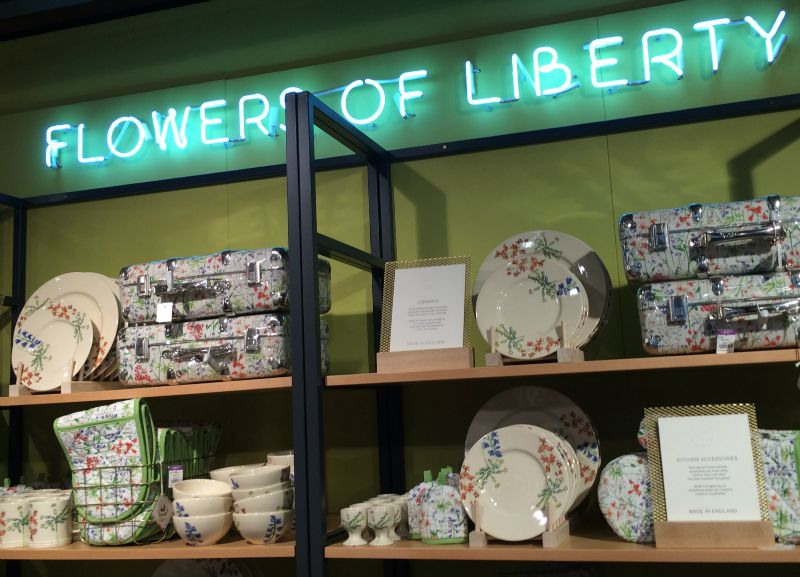 Inside Liberty department store, London