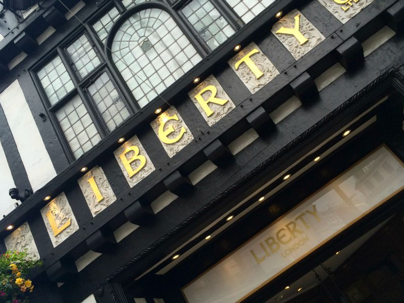 Liberty Department Store, London
