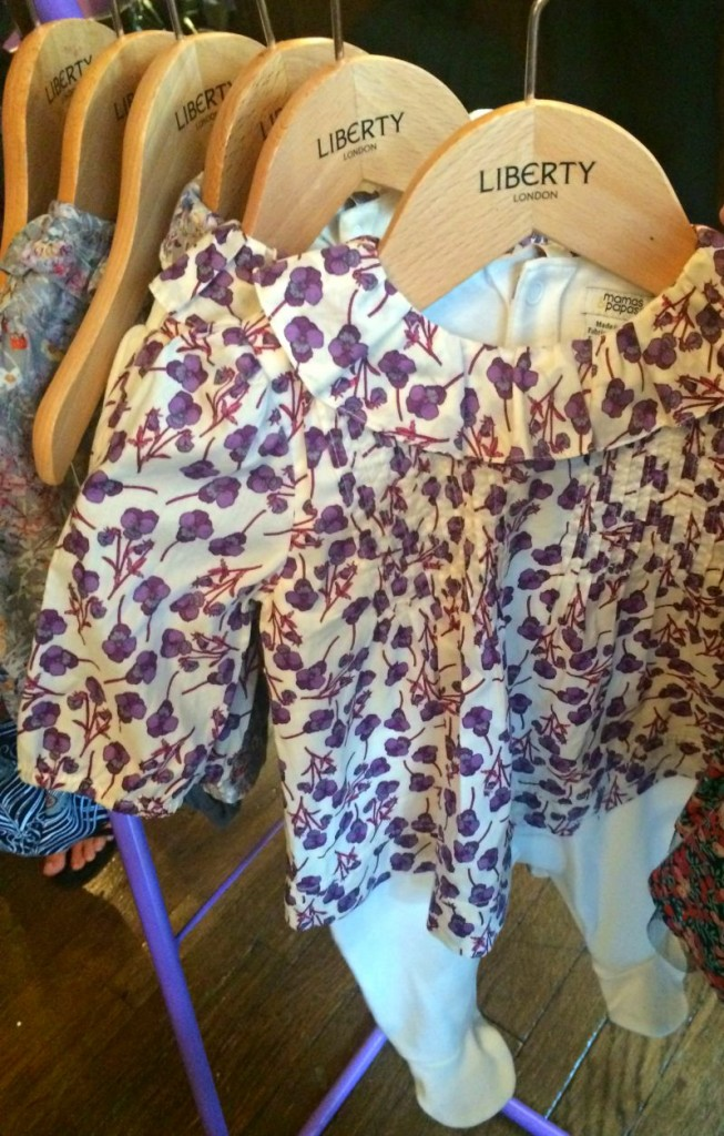 Mamas and Papas new Liberty collection baby clothes