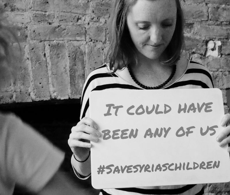 Save Syrias Children - donate £5 to Save the Children by texting  Syria to 7008