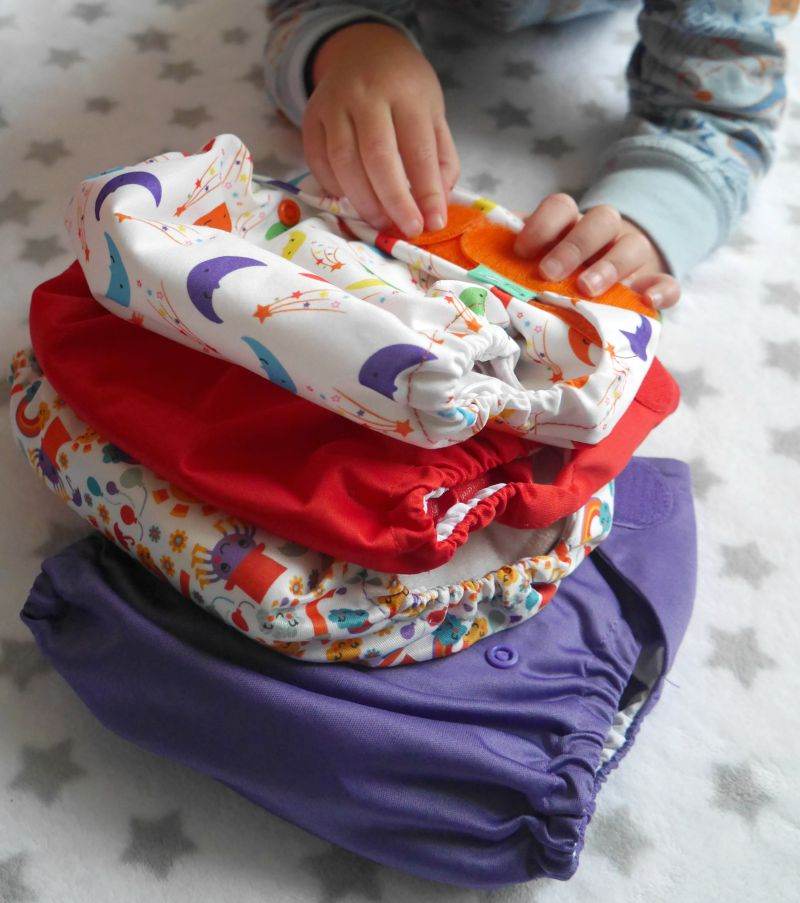 New reusable cloth nappies from TotsBots