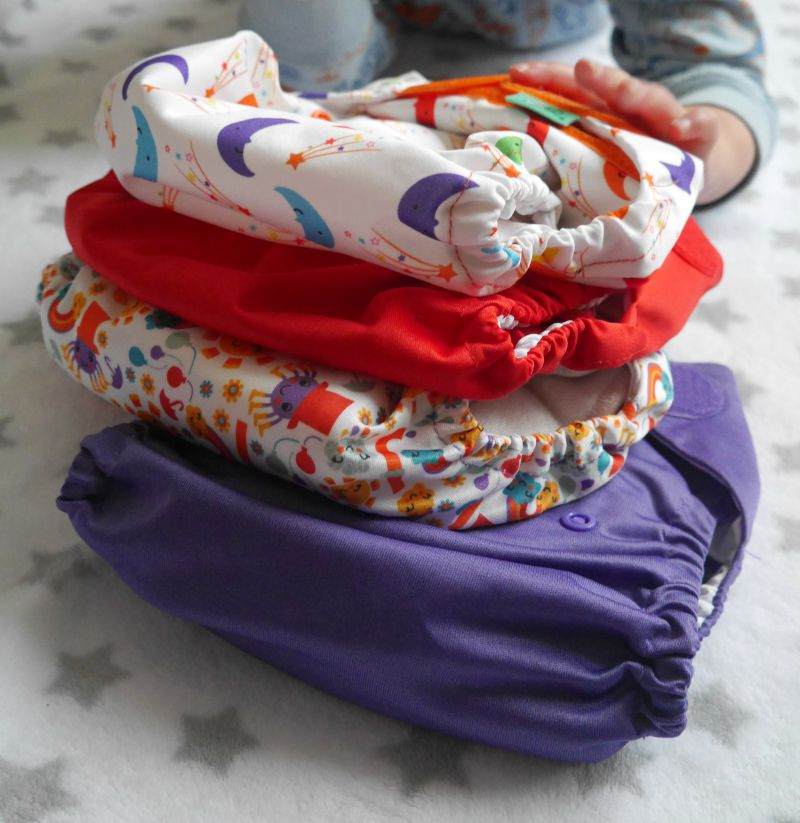 Tots Bots peenut review - review of the TotsBot disposable cloth diaper