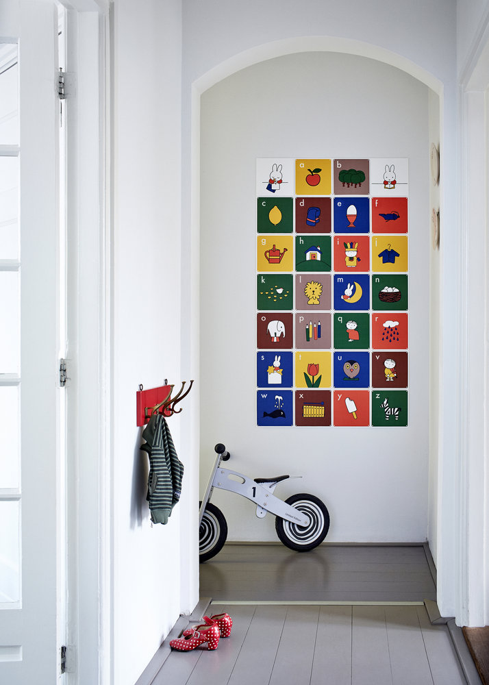 Customisable Miffy wall art for children's rooms