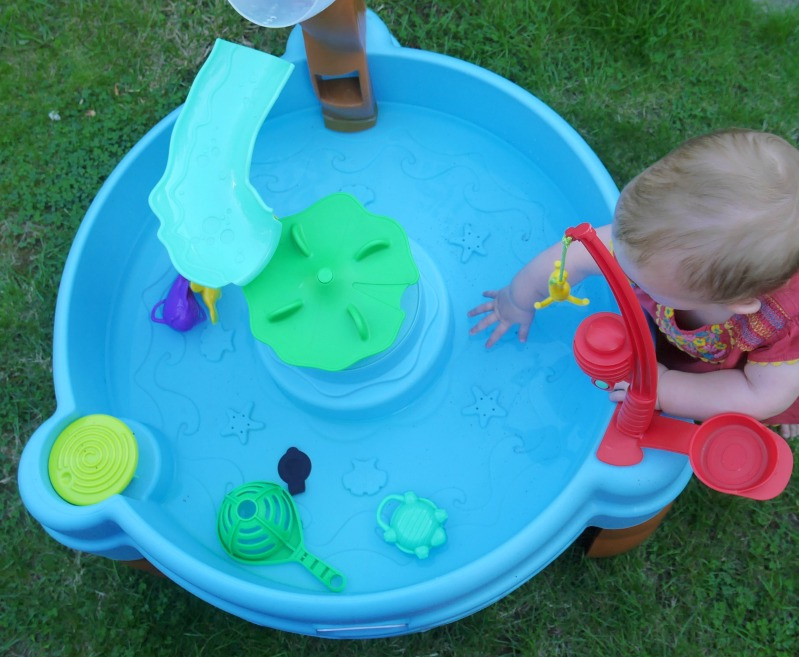 Fish and splash water play tray Little Tikes review