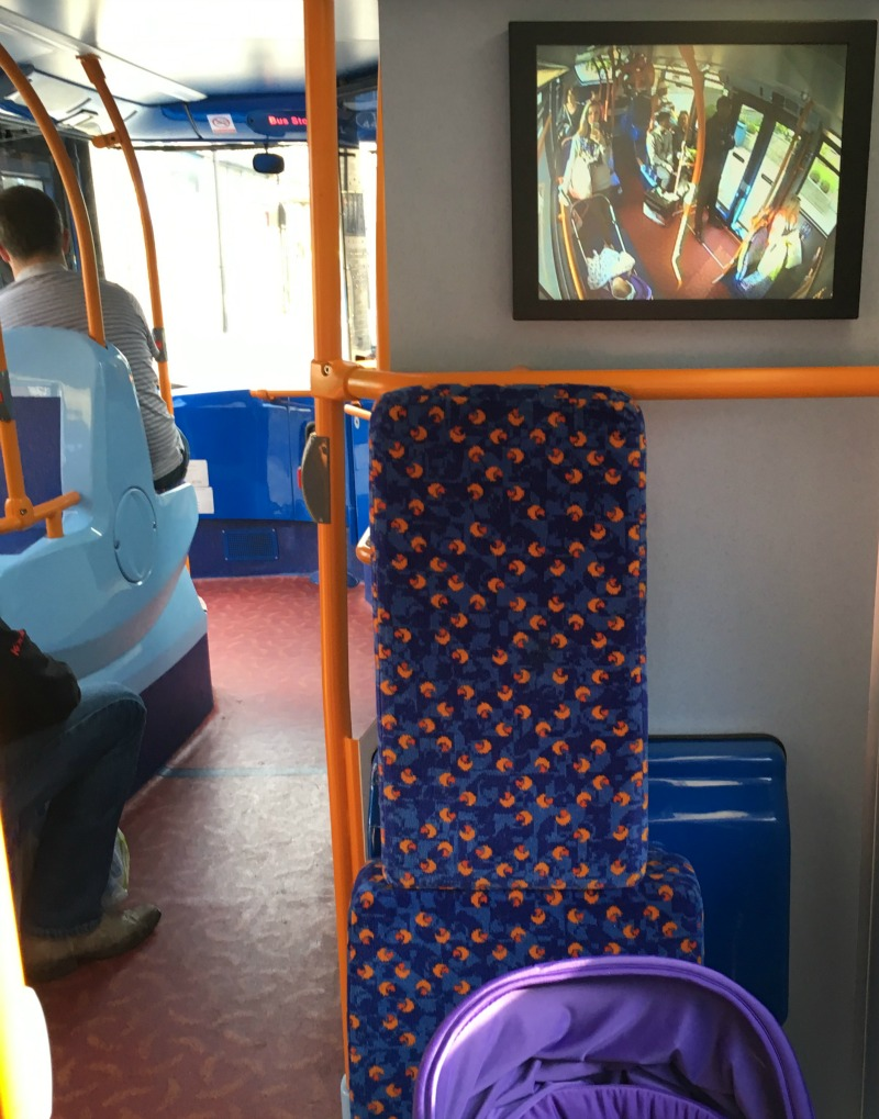 iCandy Raspberry buggy review on public transport
