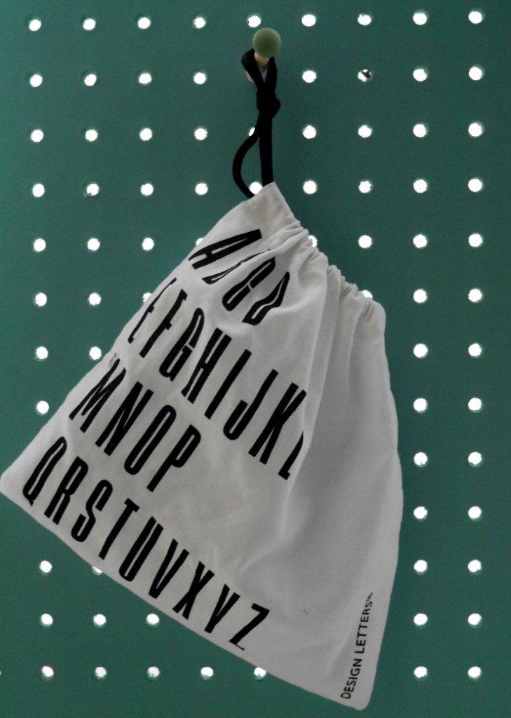 Design letters bag