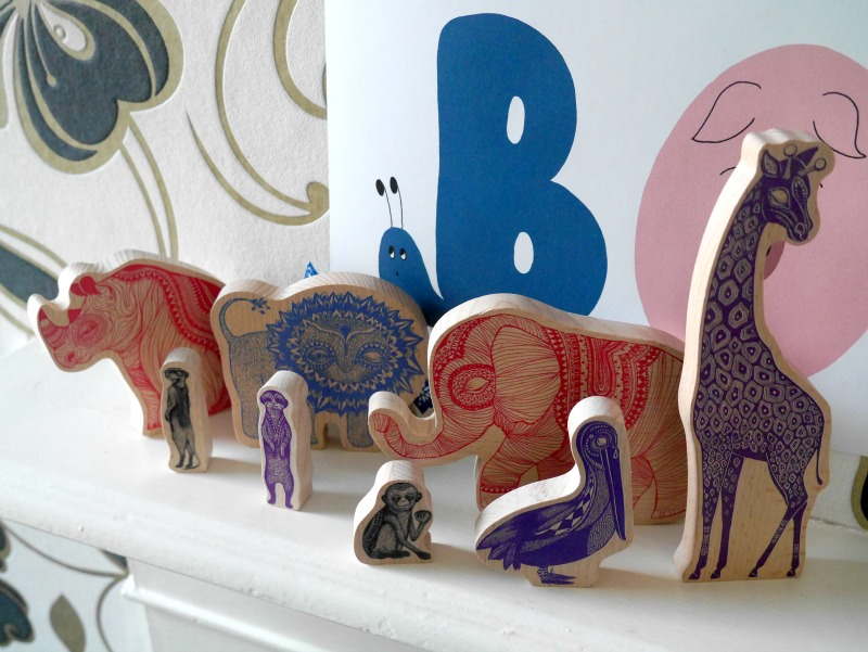 Mini empire wooden animals