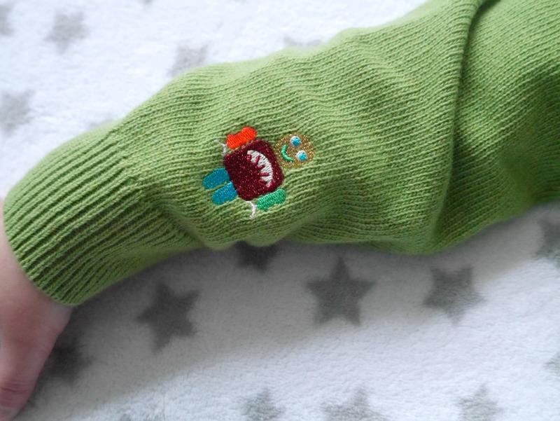 Tootsa MacGinty Christmas jumper sleeve