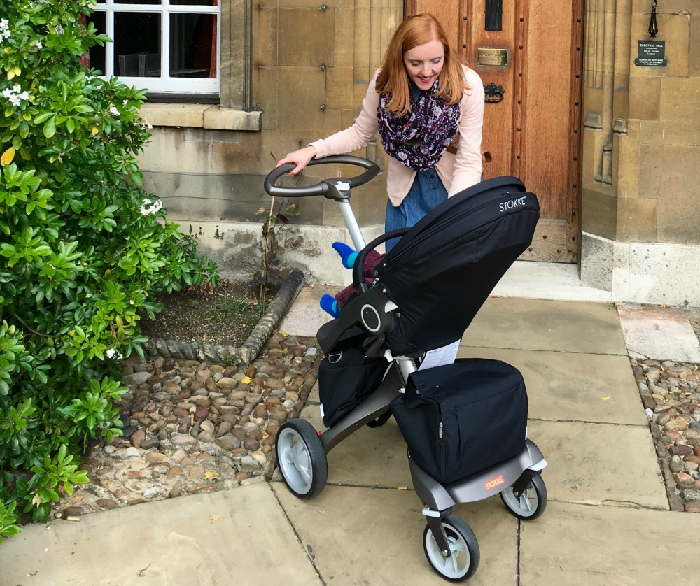 Taking the Stokke Xplory buggy to cambridge