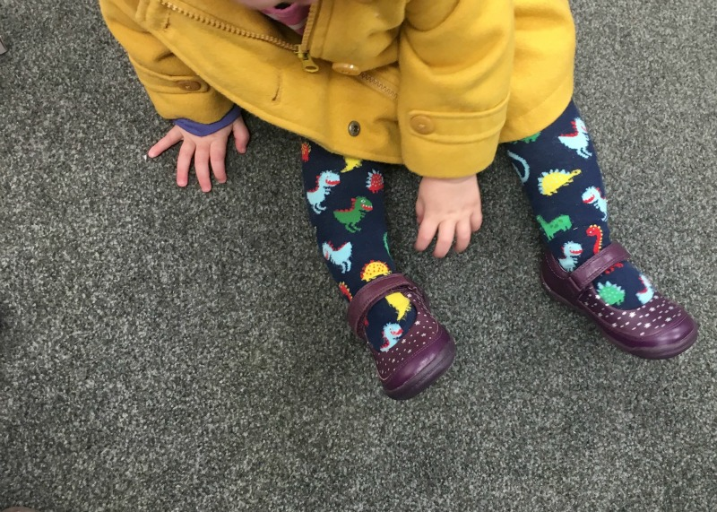 Buying your child's first pair of shoes