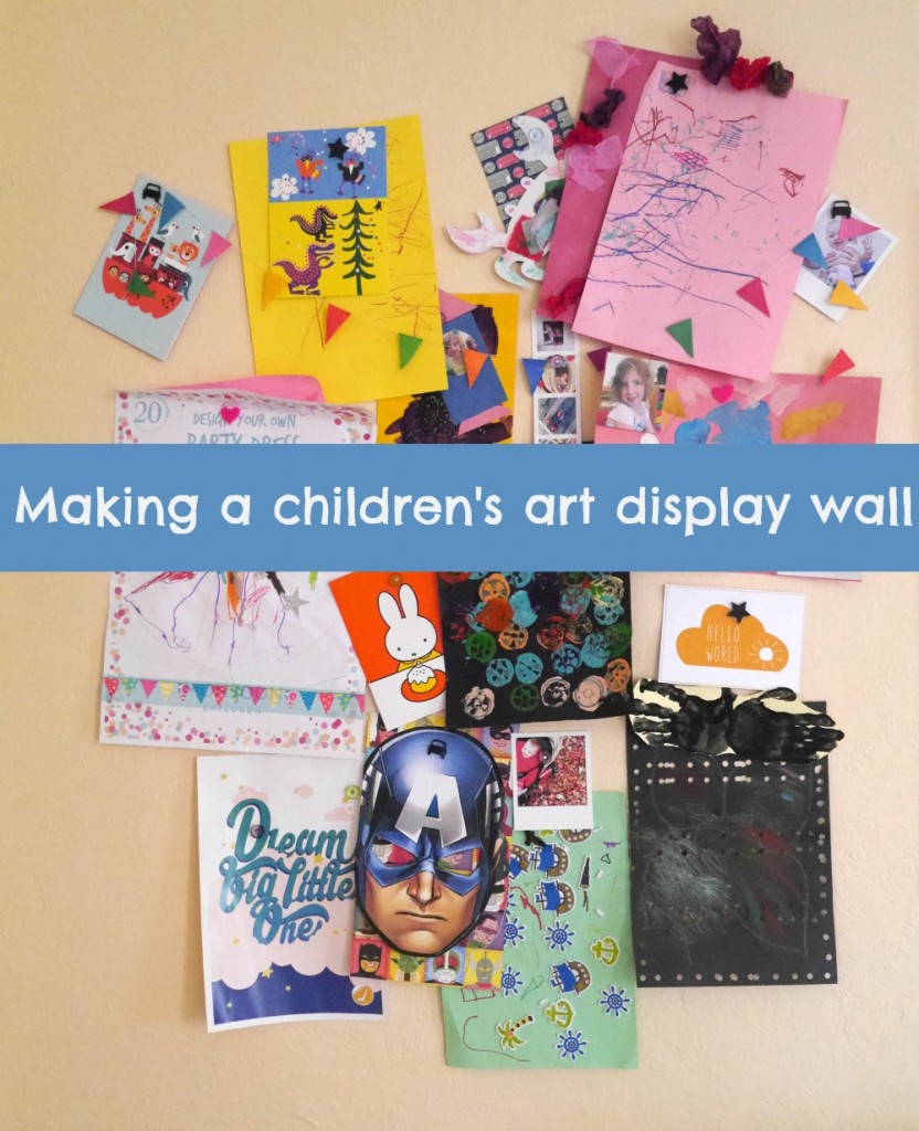 How to display all your children's art on the wall with magnets - useful tips