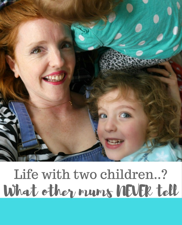 Truth about two children - what other mothers NEVER tell you about life as a mama of two. Read this if you're pregnant!