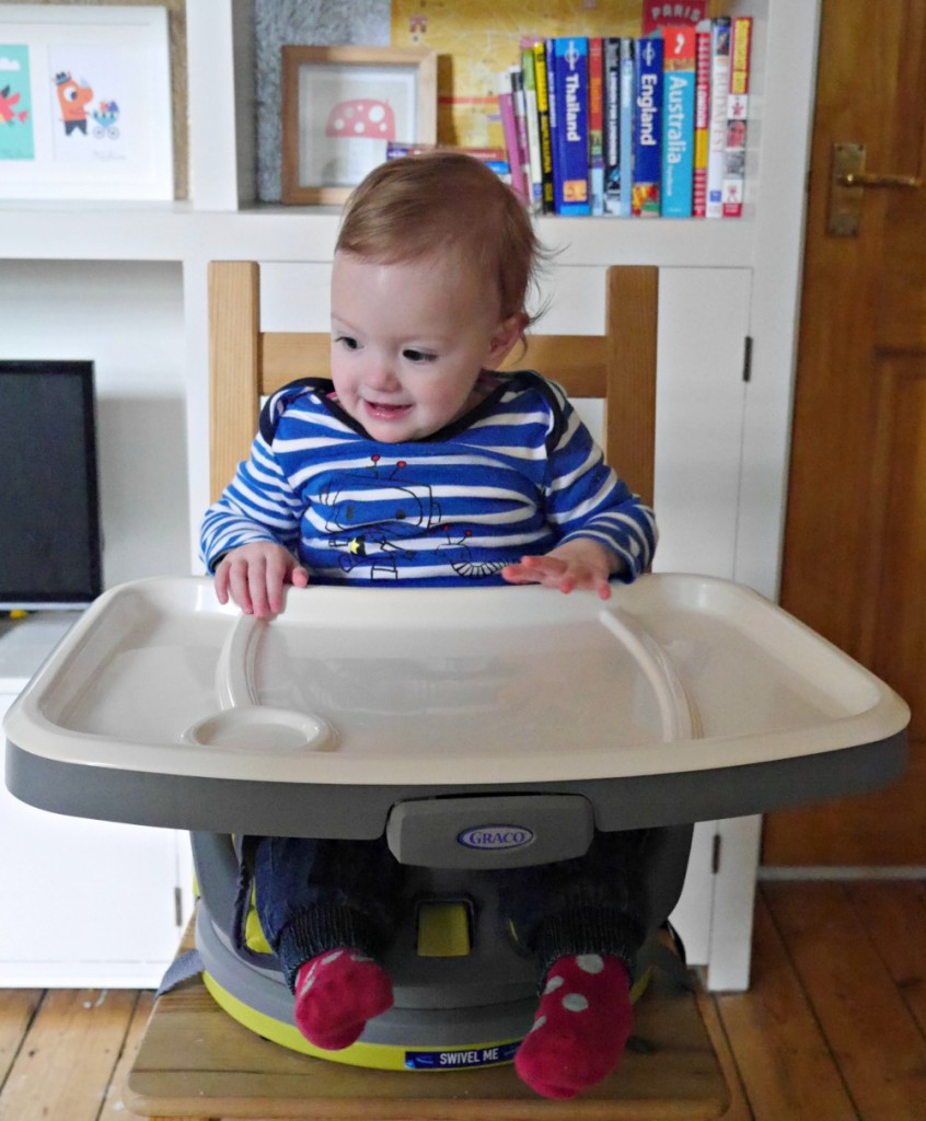 Graco Swivi High Chair booster seat review