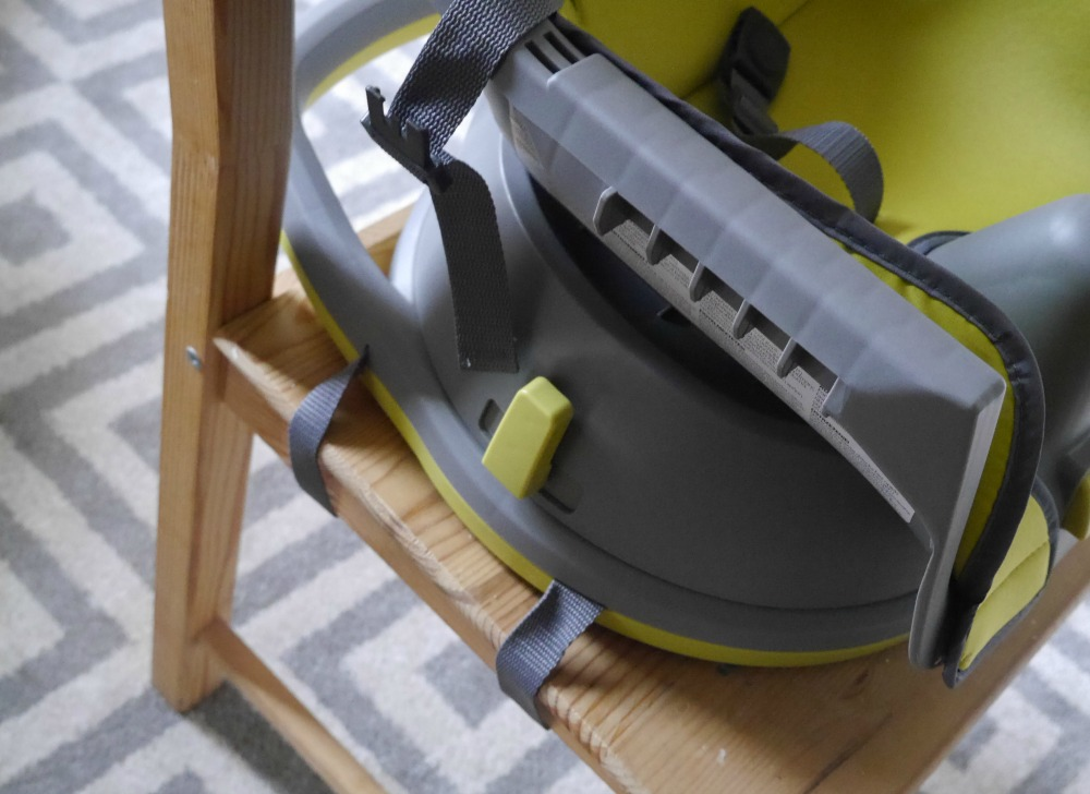 Graco Swivi booster high chair seat review