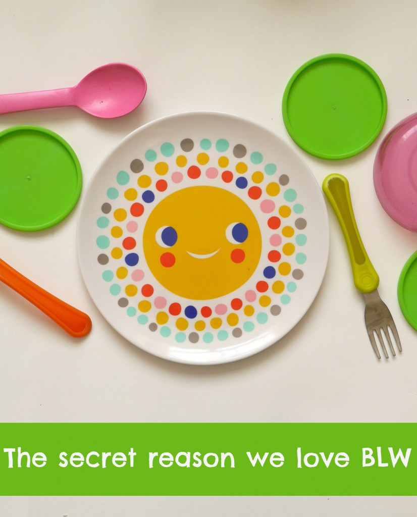 Tips for baby weaning, and the secret reason we love BLW (baby-led weaniing). Read this if you're starting weaning!