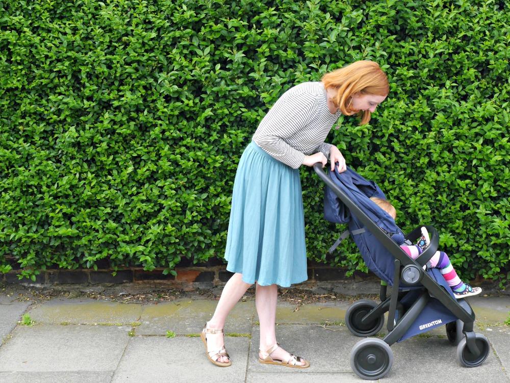 Greentom review - eco stroller review