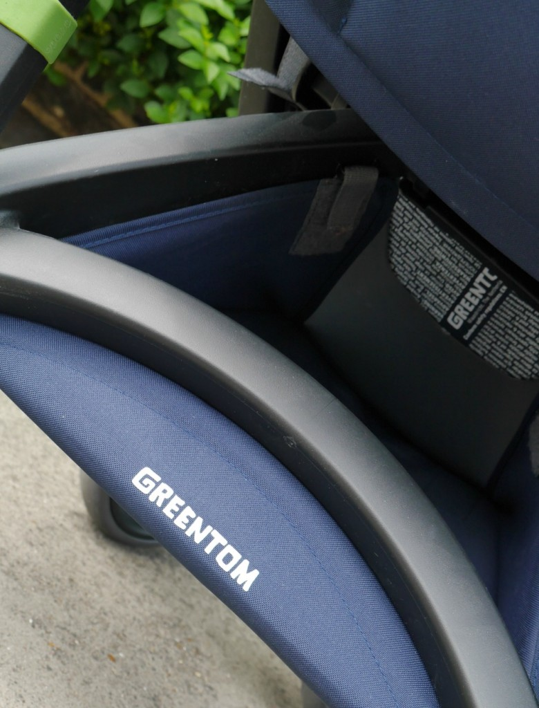 Greentom reveiw - Greentom Upp Classic eco stroller buggy