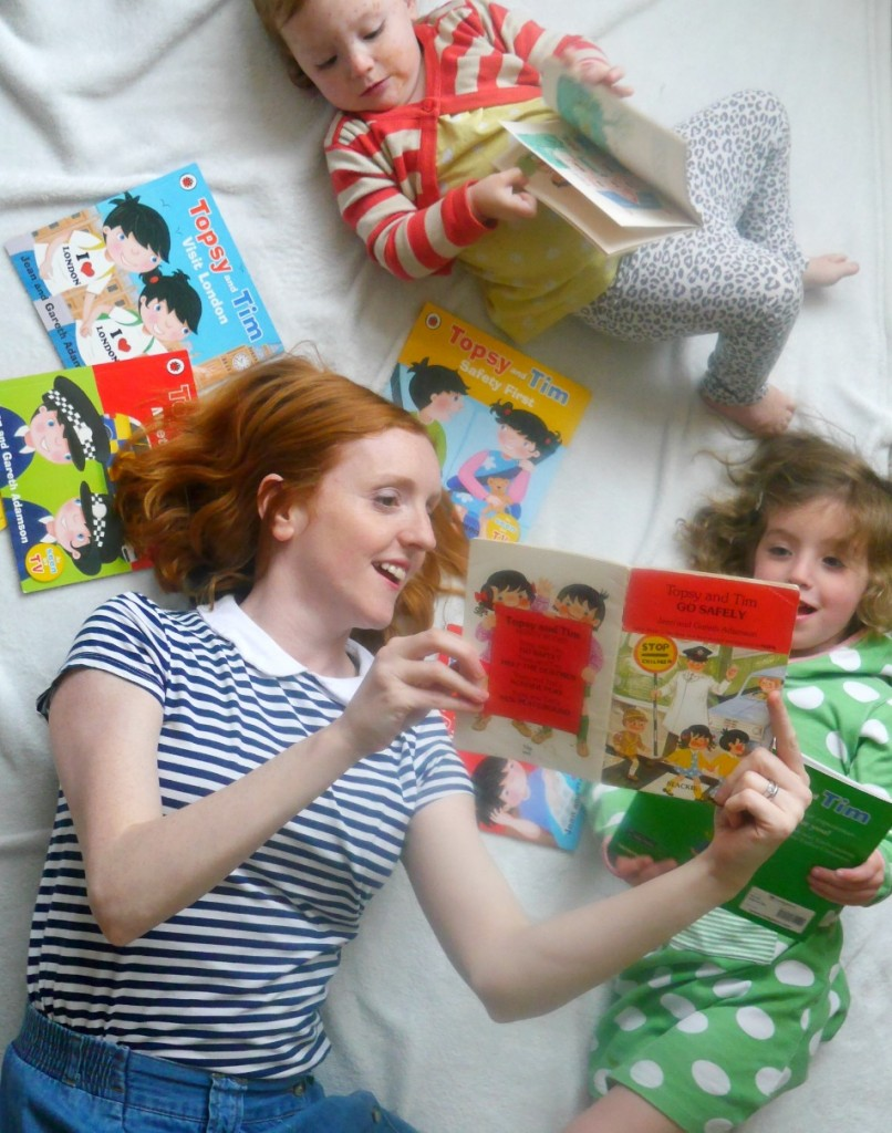 Reading Topsy and Tim books
