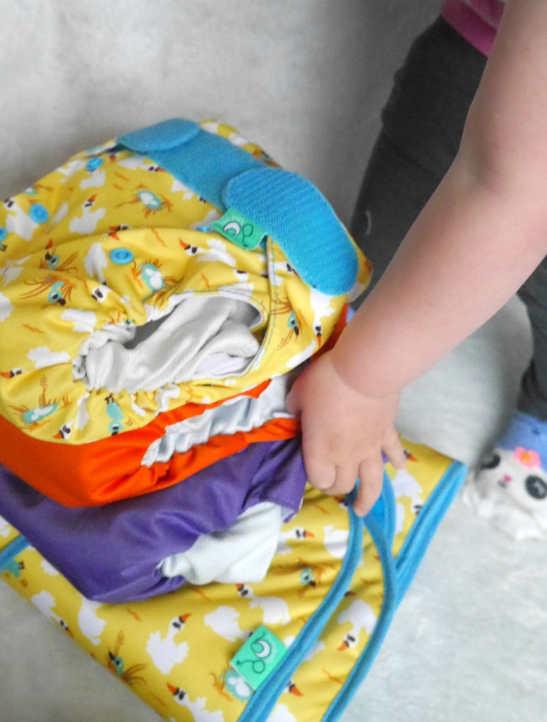 EasyFit one piece cloth diaper review - are they as good as disposables?