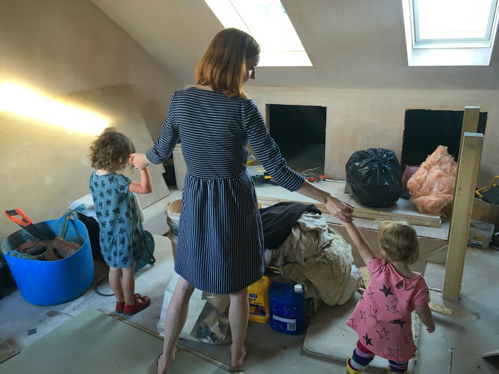 Babies and building work