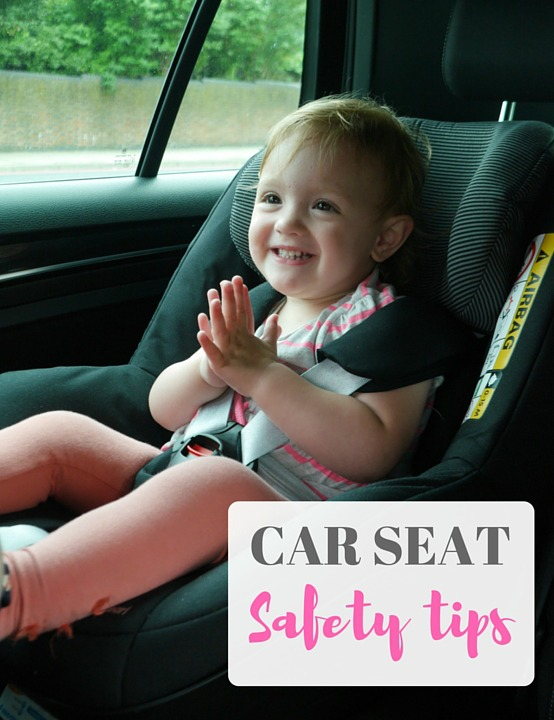 Car seat safety tips - do you know how to correctly fit a child's car seat? Lots of tips and advice on car seat safety, plus new regulations and benefits of rear facing seats explained