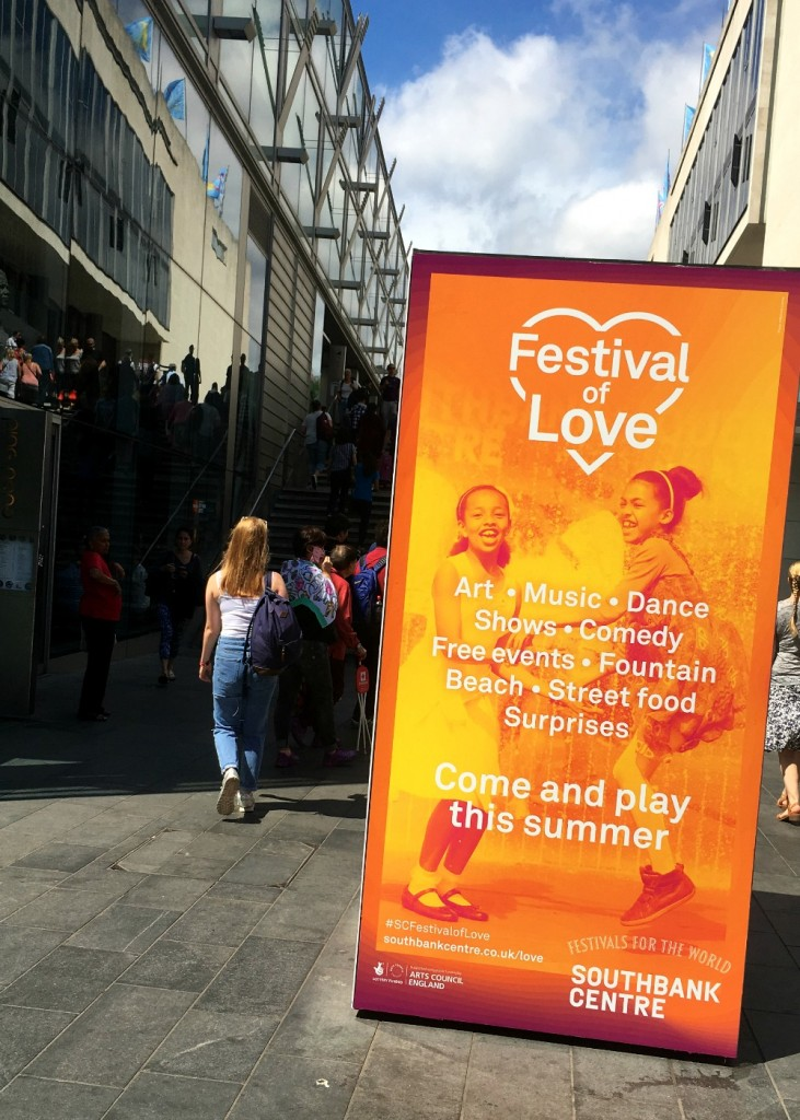 Festival of Love, The Southbank, London