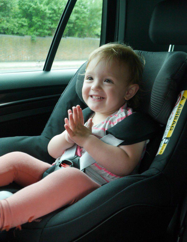 MaxiCos 2Way Pearl rearward facing car seat - review