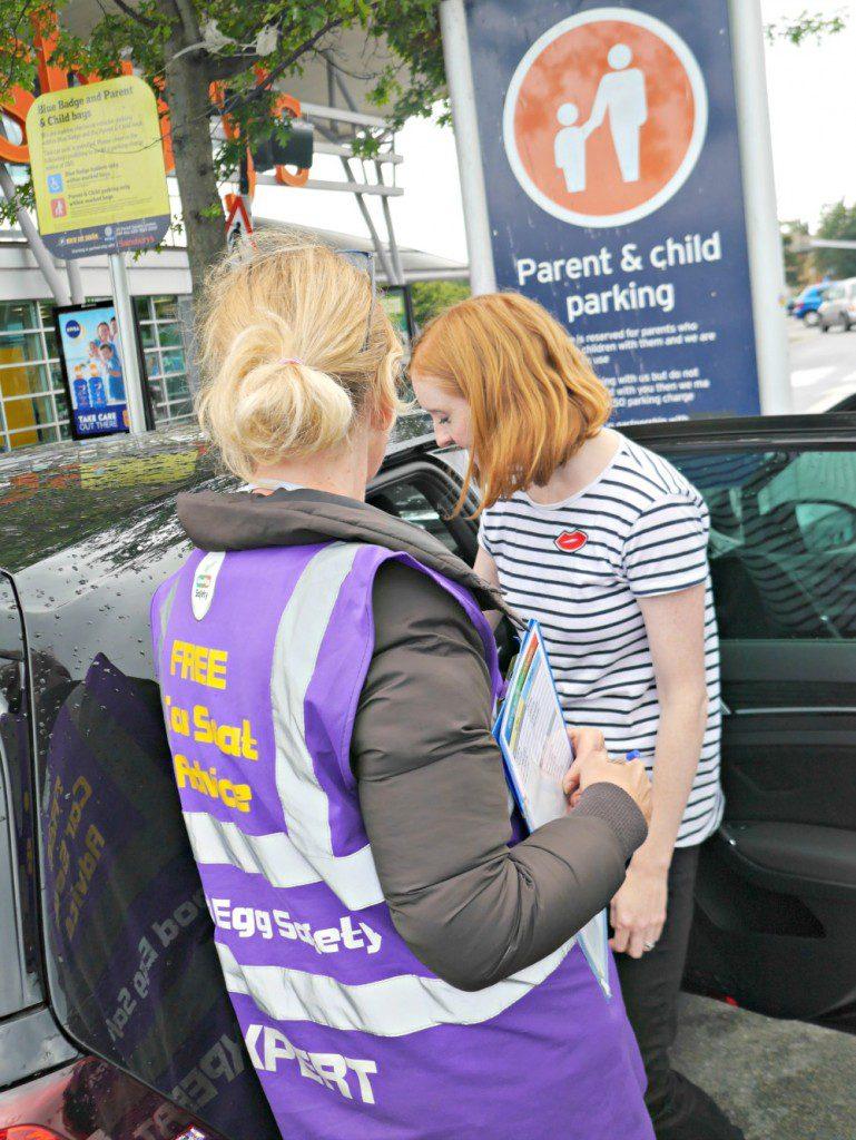 Car seat safety checks - Good Egg and Maxi Cosi