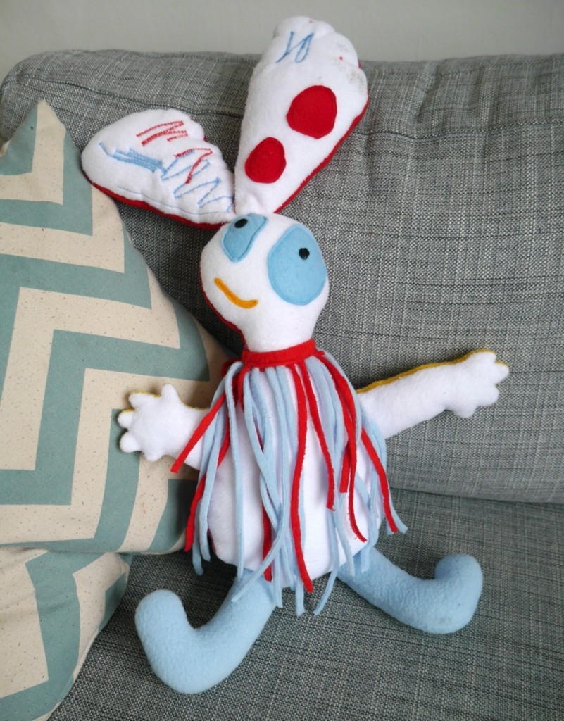 Have your child's drawing turned into a soft toy