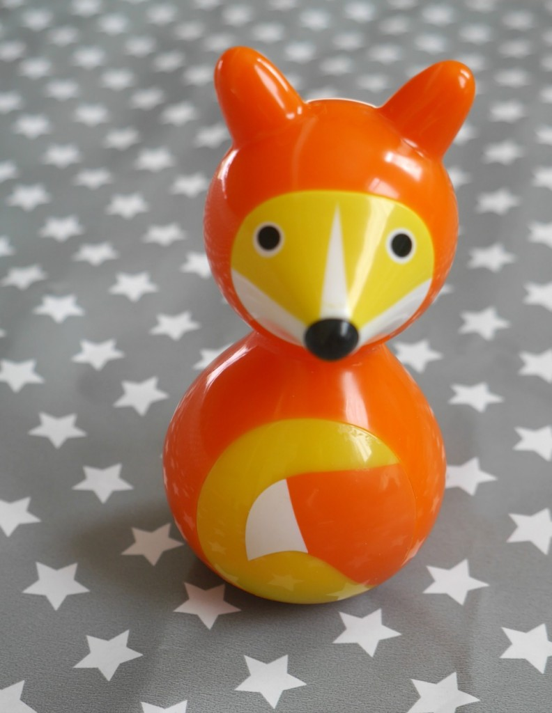Gift ideas for two-year-olds - Fox wobbler toy from Kid O
